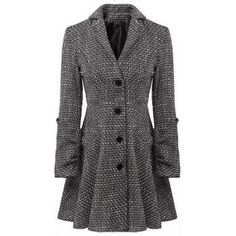 Stylish Lapel Neck Long Sleeve Single-Breasted Checked Slimming Women's Coat