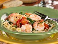 Garlic Shrimp and Spinach