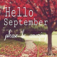 Olá Setembro, Seja Bem - Vindo - carvastyle