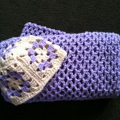 Baby blanket and a granny square hat