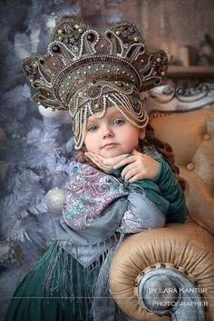 Russian seasons photo shoot. Traditional clothing, kokoshnik. Inspirational photography. Folk. Russia.
