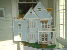 My Cape May dollhouse c. 1985 - Dollhouse Delights - Gallery - The Greenleaf Miniature Community
