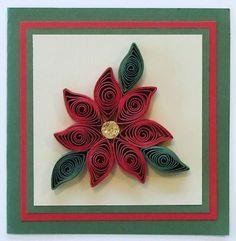 Quilling Flowers - Poinsettia