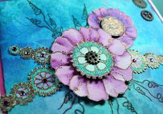 Steampunk Floral Arrangement (by Shirley)