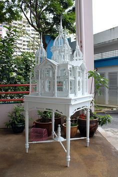 Birdcage by Like That One, via Flickr