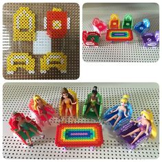 Doll furniture perler beads by ikasuyanto