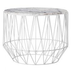 table basse marbre et blanche bloomingville frenchrosa table basse ronde blanche table basse marbre