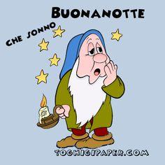 Gif buonanotte ⋆ Toghigi♥Paper Italian Greetings, Emoticon, Betty Boop, Good Night, Happy Birthday, Birthday Ideas, Cartoon, Memes, Paper