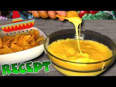 Domácí sýrová omáčka k tortilla čipsům + SOUTĚŽ!! - YouTube Fondue, Hamburger, Cheese, Ethnic Recipes, Youtube, Burgers, Youtubers, Youtube Movies