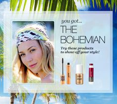 My Beauty Style today is Bohemian! I just took the ULTA Quiz for the chance to WIN a Maui vacation.