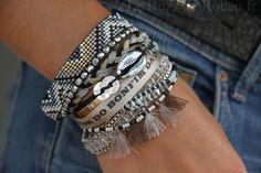 Shop Women's hipanema Blue Silver size OS Bracelets at a discounted price at Poshmark. Description: Brand new hipanema x Sold by ibgypsy. Bohemian Bracelets, Boho Jewelry, Fashion Jewelry, Seed Bead Bracelets, Pandora Bracelets, Jewelry Bracelets, Bijoux Diy, Fabric Jewelry, Loom Beading
