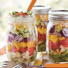 Layered Cornbread Salad | MyRecipes.com