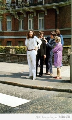 2 minutes before Abbey Road