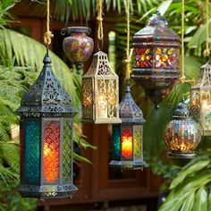 Beautiful Moroccan lanterns #homedecor #hippiestyle