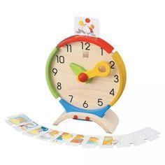 Plan Toys Activity Clock