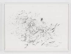 Julie Mehretu, Mind Breath Drawings (4), 2010, Graphite on paper, 25 x 36