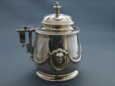 A superb Victorian silver mustard pot: http://www.antiquestovintage.com/ads/19th-century-aesthetic-movement-silver-mustard-pot/?utm_source=dlvr.it&utm_medium=facebook
