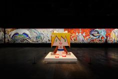 takashi murakami: ego at al riwaq exhibition hall, doha, qatar