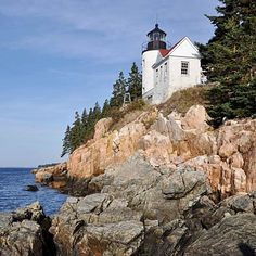 Acadia National Park, Maine.  Home to the tallest mountain on the Atlantic coast, with 125 miles of trails.