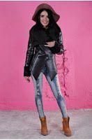 Cojoc calduros de dama, marca FOGGI model 2015 Collections, Punk, Wonder Woman, Superhero, Women, Style, Fashion, Swag, Moda