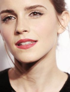I have a woman crush on Emma Watson. She's flawless. (Oh, I was going to type that wow)