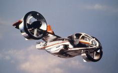 UFO TV series gyro plane like the V22 Osprey but 25 years earlier
