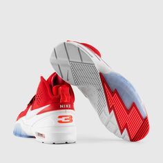 Nike - Air Bo 1 (University Red | Hot Lava | White)