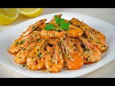 Reteta Creveti cu ghimbir si usturoi (reteta video) - JamilaCuisine Romanian Food, Romanian Recipes, Asian Recipes, Ethnic Recipes, Fish And Seafood, Shrimp Recipes, Japchae, Spaghetti, Food And Drink