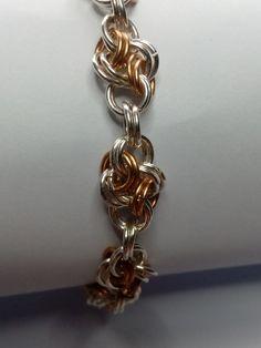 Sterling Silver 925 Double Cloud Bracelet #HandmadeJewelry #GiftForMom #HandmadeInNorway #GiftToHerFromHim #VikingMaille #CloudBracelet #SilverBracelets #DoubleCloudPattern #VikingChain #ChainmailleJewelry Handmade Jewelry, Unique Jewelry, Handmade Gifts, Clouds Pattern, Chainmaille, Silver Bracelets, Gifts For Mom, Jewelry Making, Jewels