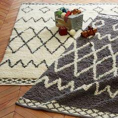 Kasbah Wool Rug - Steel ($179-$1299, 3x5, 5x8, 8x10, 9 x 12) $499 for 5 x 8