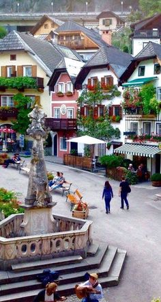 Hallstat, Austria - #Austria #Hallstat #Hermosanaturaleza #LugaresHermosos #Lugarespreciosos #Naturalezaimpresionante #Paisajeincreibles #Paisajeshermosos #Paisajesincreibles