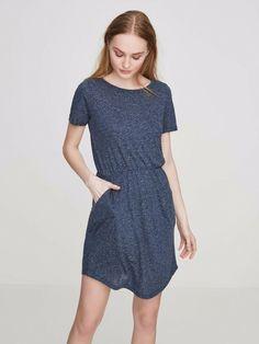 7af3913f3c89 Vero Moda Casual Short Sleeved Dress Blue Size UK 8 RR 21 for sale online