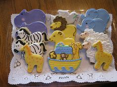 Noah's Ark Baby Shower