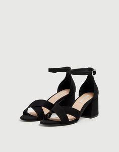 133d90736f6 16 Best Μαύρα τακούνια images | High shoes, Heel, High heels