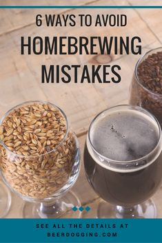 6 Ways to Avoid Homebrewing Mistakes Home Hub Avoid Homebrewing homebrewing beer recipes Mistakes Ways Beer Brewing Kits, Brewing Recipes, Homebrew Recipes, Beer Recipes, Dog Recipes, Make Beer At Home, How To Make Beer, Ginger Ale, Brew Your Own Beer