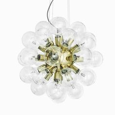Design Chandeliers De Lux Lamp Collection: Design Chandeliers De LUX -even more luxurious - for those who want the absolute best. Thomas Larsson has done it again. The De Lux has 34 halogen lamps. Luxor, Opal, Stud Earrings, Ceiling Lights, Stuff To Buy, Jewelry, Design, Chandeliers, Schmuck
