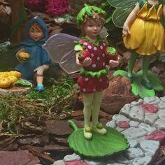 Fairy Homes and Gardens - Strawberry Secret Garden Flower Fairy, $10.00 (https://www.fairyhomesandgardens.com/strawberry-secret-garden-flower-fairy/)