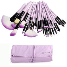 Vander 32pc Purple Professional MakeUp Brushes Set Foundation Face Cosmetic Tool * You can find more details by visiting the image link. (This is an affiliate link and I receive a commission for the sales)