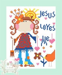 Online Shop Free shipping DIY unfinished Cross Stitch kit Christian Jesus Real child JDJ-D036|Aliexpress Mobile