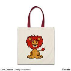 Cute Cartoon Lion