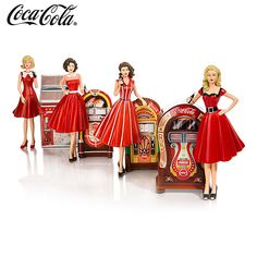 909091 - Rockin' With COCA-COLA Figurine Collection