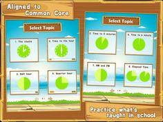 App Shopper: Let's Learn Time - Interactive app for elementary school kids (Education)