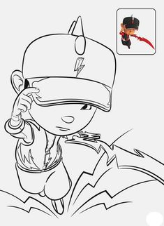 Gambar Mewarnai Boboiboy Galaxy : gambar, mewarnai, boboiboy, galaxy, Coloring, Ideas, Kids,, Pages