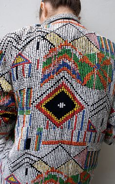 No ordinary blazer. Boho, Bohemian, Gypsy, Hippie, Jewellery, Aztec, Tribal, Style, fashion, look, festival, necklace