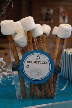Rockstar Birthday Party Ideas | Photo 9 of 19 | Catch My Party