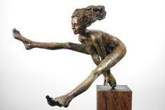 @She Art Gallery, Nuenen/Eindhoven,NL Lilian Steenhuisen - Cross the ocean in my Mind. Bronze