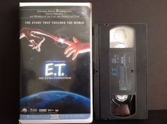 E.T. The Extra-Terrestrial (VHS, 1996, Clamshell) Director: Steven Allan Spielbe