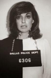 Linda Gray as Sue Ellen Ewing on Dallas.........
