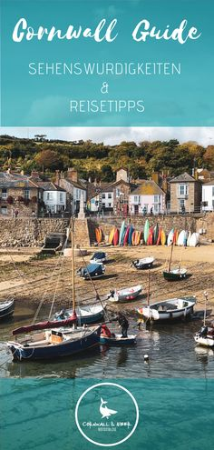 Cornwall travel guide - the best sights, travel tips and highlights for your vacation! Travel Info, Travel List, Travel Guide, Travel Ideas, Top Destinations, Great Britain, Strand, Family Travel, Travel Inspiration