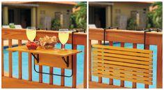 Най-добрите спестяващи място мебели за малкия балкон | Idei.BG